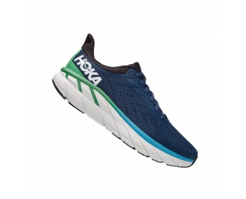 ‭Hoka Clifton 7 Wide - ןבל/לוחכ עבצב םירבגל תובחר 7 ןוטפילק הקוה‬