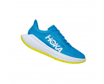 Hoka Carbon X2 - נעלי ספורט הוקה קרבון איקס 2 בצבע כחול/צהוב לגברים