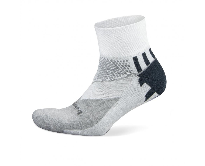 Balega - Enduro גרבי בצבע לבן/אפור #1