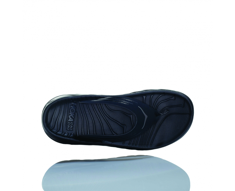 Hoka Ora Recovery Flip - כפכפי אצבע לנשים אורה הוקה איכותיים בצבע שחור #6