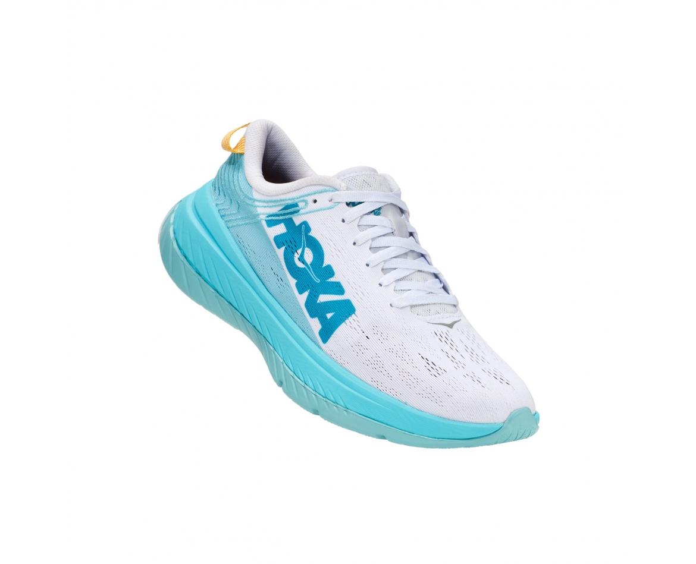 Hoka Carbon X - נעלי ספורט נשים הוקה קרבון איקס בצבע לבן/כחול #1