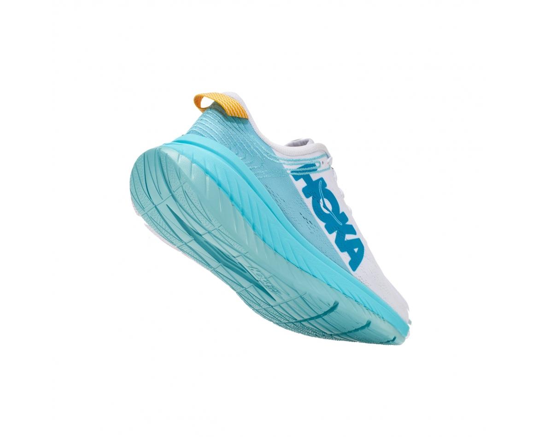 Hoka Carbon X - נעלי ספורט נשים הוקה קרבון איקס בצבע לבן/כחול #2