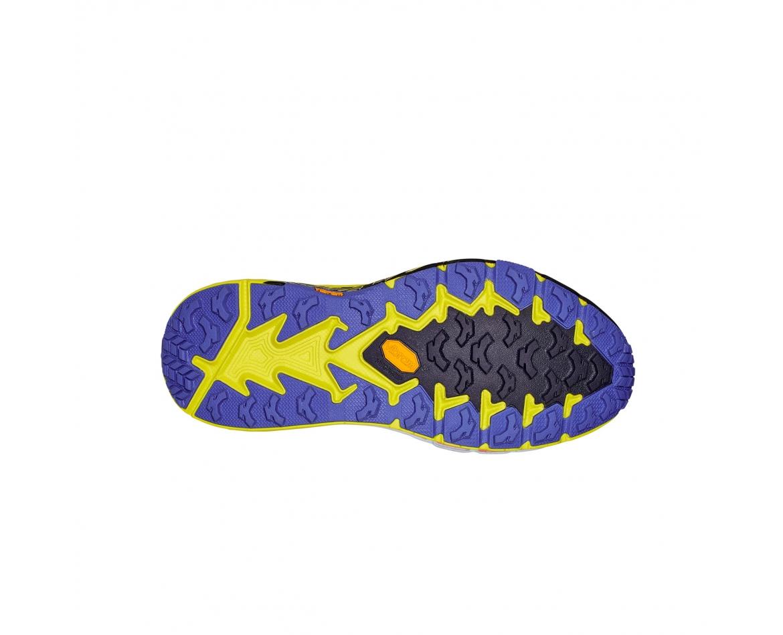 Hoka Speedgoat 4 Wide -נעלי ספורט גברים הוקה ספידגוט 4 רחבות בצבע סגול/שחור/צהוב #5