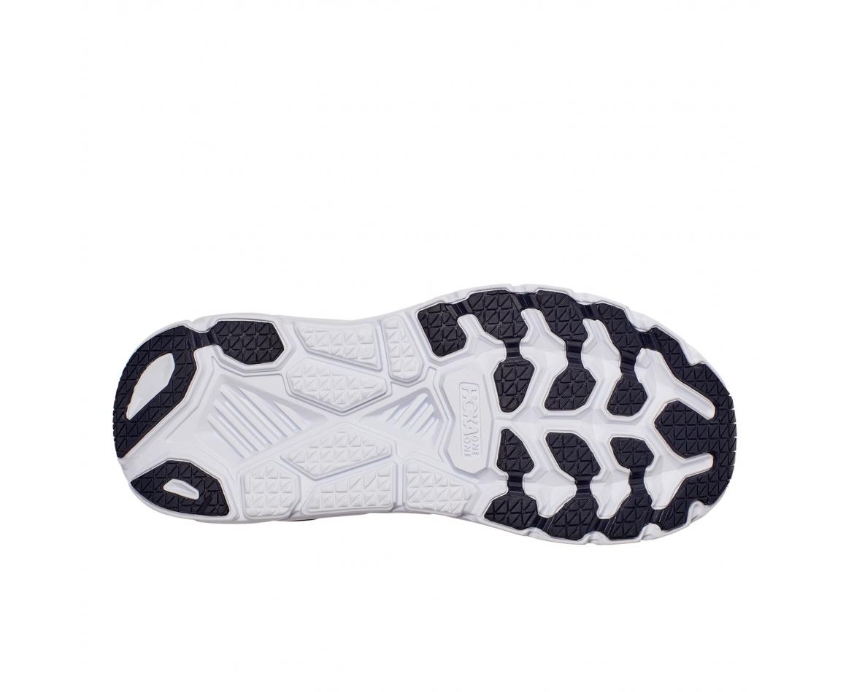 Hoka Clifton 7 Wide - נעלי ספורט נשים הוקה קליפטון 7 רחבות בצבע כחול/לבן #5