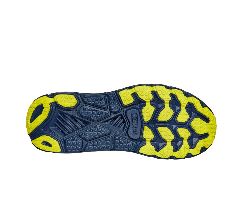 Hoka Clifton 7 - נעלי ספורט גברים הוקה קליפטון 7 בצבע לבן/שחור איריס #5