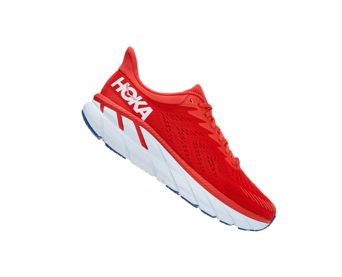 ‭Hoka Clifton 7 - ןבל/הטסאיפ םודא עבצב םירבגל 7 ןוטפילק הקוה‬ #2