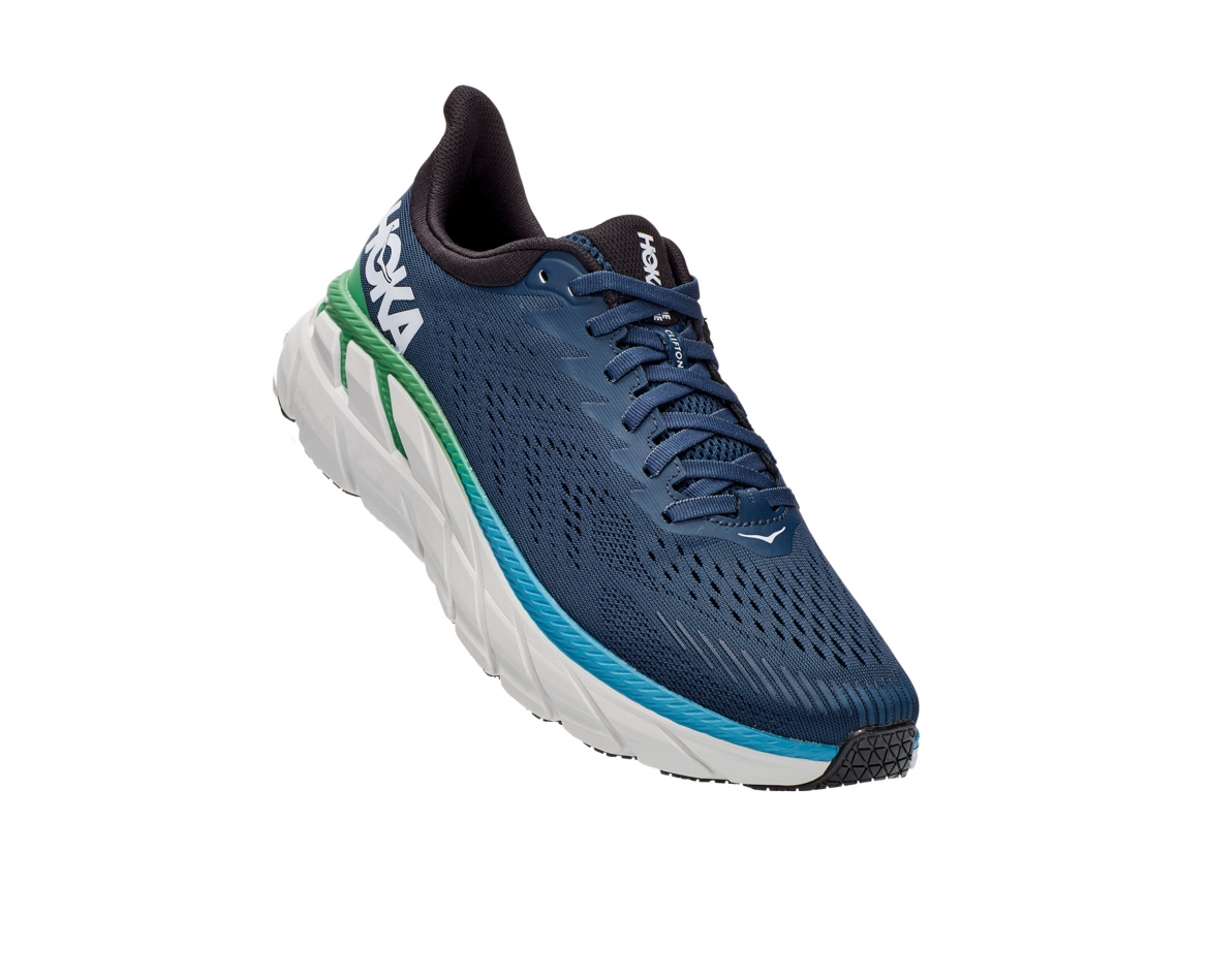 ‭Hoka Clifton 7 - ןבל/לוחכ עבצב םירבגל 7 ןוטפילק הקוה‬ #1