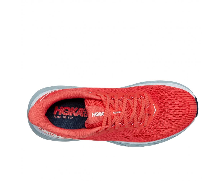 Hoka Clifton 7 - נעלי ספורט נשים הוקה קליפטון 7 בצבע כתום/לבן #6