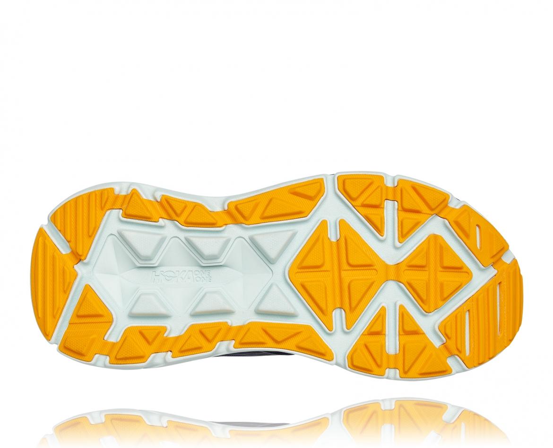 Hoka Stinson ATR 6 - נעלי ספורט גברים הוקה סטינסון אייטיאר בצבע כחול אומברה/כתום #5