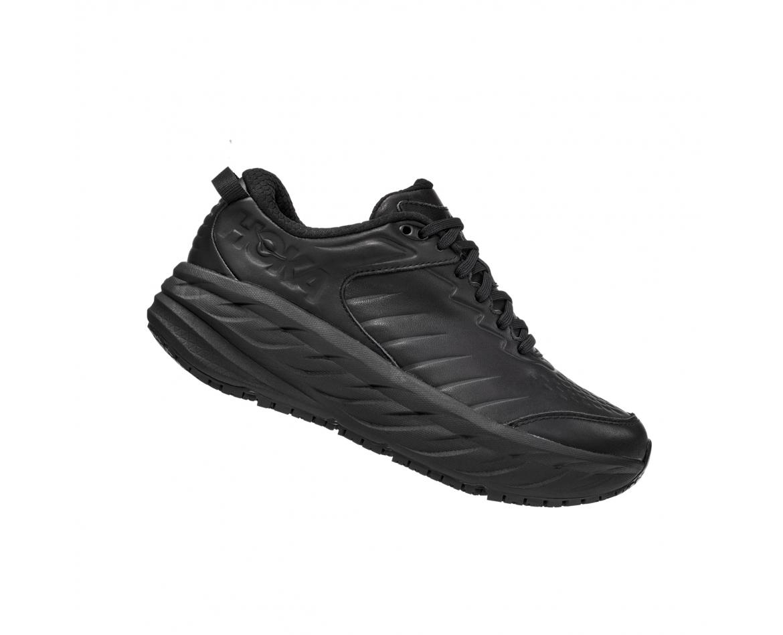 Hoka Bondi SR - נעלי ספורט נשים הוקה בונדי אס-אר בצבע שחור #3