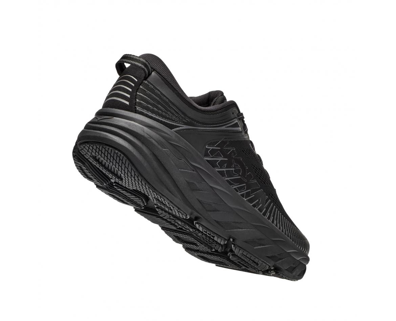 Hoka Bondi 7 Wide - נעלי ספורט גברים הוקה בונדי 7 רחבות בצבע שחור #2