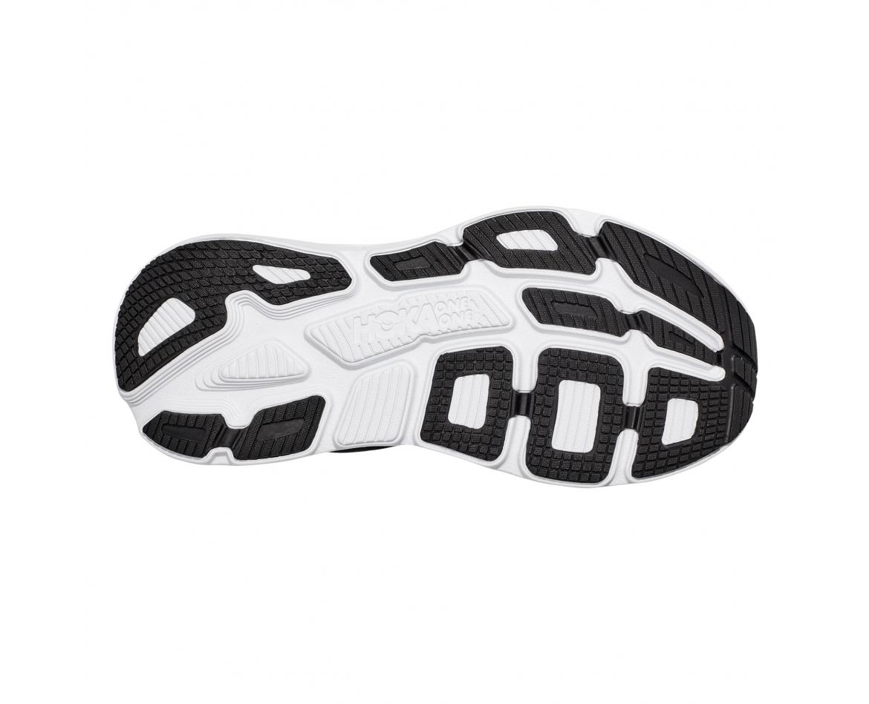 Hoka Bondi 7 Wide - נעלי ספורט נשים הוקה בונדי 7 רחבות בצבע שחור/לבן #5