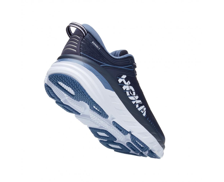 Hoka Bondi 7 - נעלי ספורט גברים הוקה בונדי 7 בצבע כחול אומברה/כחול #2