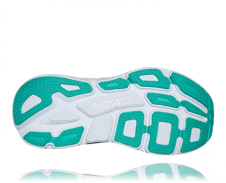 Hoka Bondi 7 - נעלי ספורט נשים הוקה בונדי 7 בצבע כחול עז/פוקסיה #6