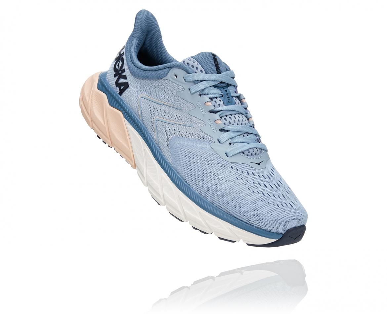 Hoka Arahi Wide 5 - נעלי ספורט נשים הוקה ארהי 5 רחבות בצבע כחול #1