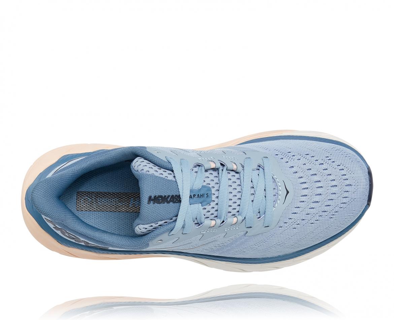Hoka Arahi Wide 5 - נעלי ספורט נשים הוקה ארהי 5 רחבות בצבע כחול #5