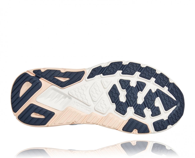 Hoka Arahi Wide 5 - נעלי ספורט נשים הוקה ארהי 5 רחבות בצבע כחול #6