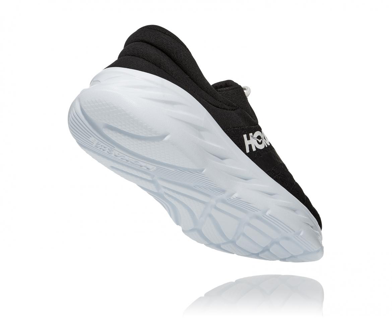 Hoka Ora Recovery Shoes 2 נעלי גרב הוקה אורה 2 בצבע שחור/לבן – #2