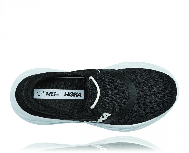 Hoka Ora Recovery Shoes 2 נעלי גרב הוקה אורה 2 בצבע שחור/לבן – #5