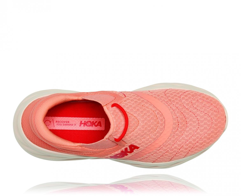 Hoka Ora Recovery Shoes 2 נעלי גרב נשים אורה 2 בצבע כתום/אדום פיאסטה – #5