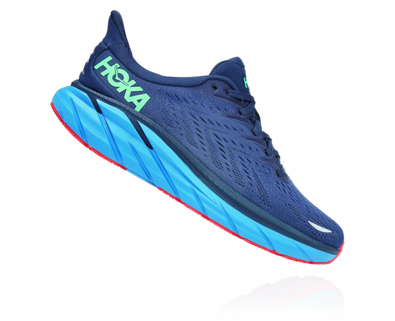 Hoka Clifton 8 - נעלי ספורט גברים הוקה קליפטון 8 בצבע נייבי/כחול #3