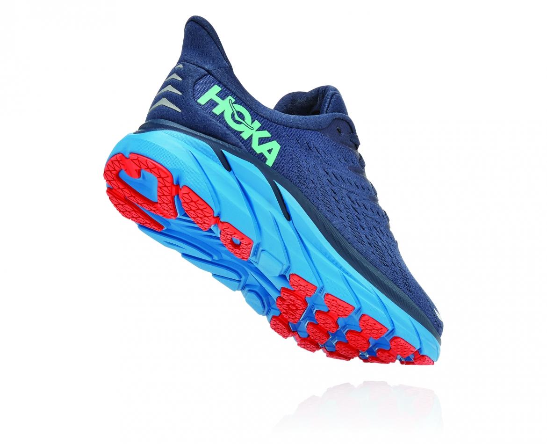 Hoka Clifton 8 - נעלי ספורט גברים הוקה קליפטון 8 בצבע נייבי/כחול #2