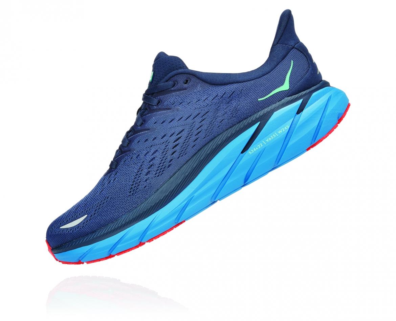 Hoka Clifton 8 - נעלי ספורט גברים הוקה קליפטון 8 בצבע נייבי/כחול #4