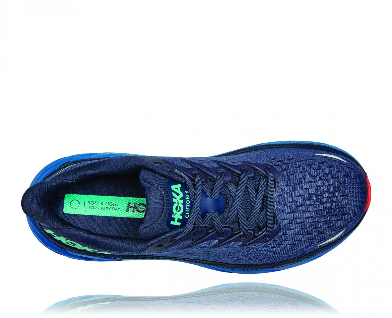 Hoka Clifton 8 - נעלי ספורט גברים הוקה קליפטון 8 בצבע נייבי/כחול #5