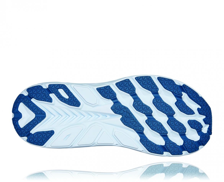Hoka Clifton 8 Wide - נעלי ספורט גברים הוקה קליפטון 8 רחבות בצבע תכלת/טורקיז #6