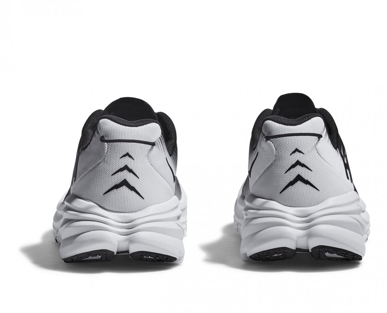 Hoka Rincon 3 Wide - נעלי ספורט נשים הוקה רינקון 3 רחבות בצבע שחור/לבן #5