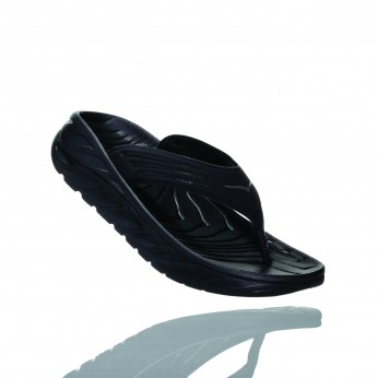Hoka Ora Recovery Flip - כפכפים לגבר הוקה אורה בצבע שחור