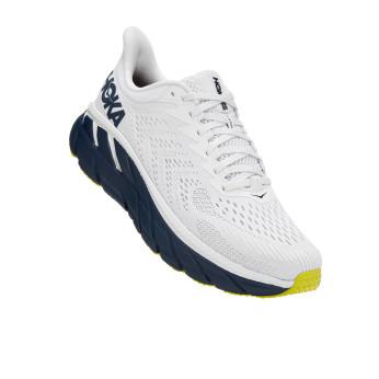 Hoka Clifton 7 - נעלי ספורט גברים הוקה קליפטון 7 בצבע לבן/שחור איריס