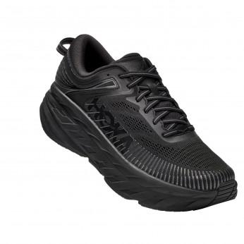 Hoka Bondi 7 Wide - נעלי ספורט גברים הוקה בונדי 7 רחבות בצבע שחור