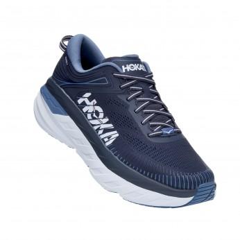 Hoka Bondi 7 - נעלי ספורט גברים הוקה בונדי 7 בצבע כחול אומברה/כחול