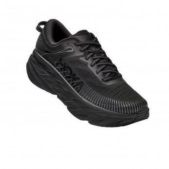 Hoka Bondi 7 X-Wide - X 7 נעלי ספורט גברים הוקה בונדי רחבות בצבע שחור