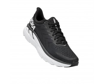 ‭Hoka Clifton 7 Wide - ןבל/רוחש עבצב םישנל תובחר 7 ןוטפילק הקוה‬