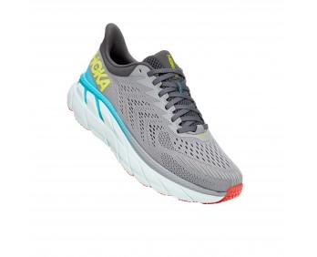 Hoka Clifton 7 - נעלי ספורט גברים הוקה קליפטון 7 בצבע אפור