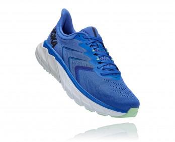 Hoka Arahi 5 - נעלי ספורט גברים הוקה ארהי 5 בצבע כחול דזלינג/שחור