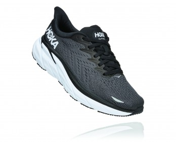 Hoka Clifton 8 - נעלי ספורט נשים הוקה קליפטון 8 בצבע שחור/לבן