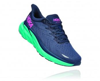 Hoka Clifton 8 - נעלי ספורט נשים הוקה קליפטון 8 בצבע כחול/טורקיז