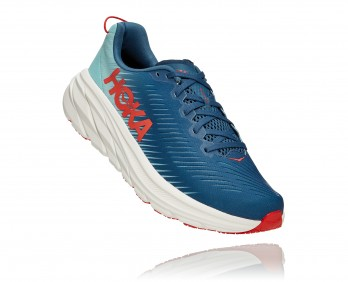 Hoka Rincon 3 - נעלי ספורט גברים הוקה רינקון 3 בצבע כחול/טורקיז