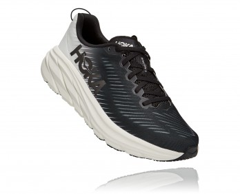 Hoka Rincon 3 Wide - נעלי ספורט גברים הוקה רינקון 3 רחבות בצבע שחור/לבן