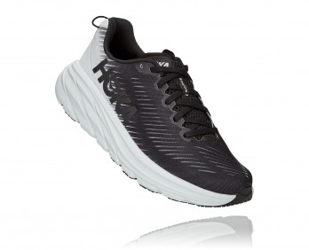 Hoka Rincon 3 Wide - נעלי ספורט נשים הוקה רינקון 3 רחבות בצבע שחור/לבן